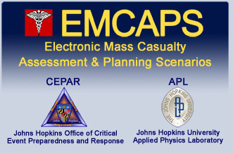 EMCAPS Program Logo and Entry Screen